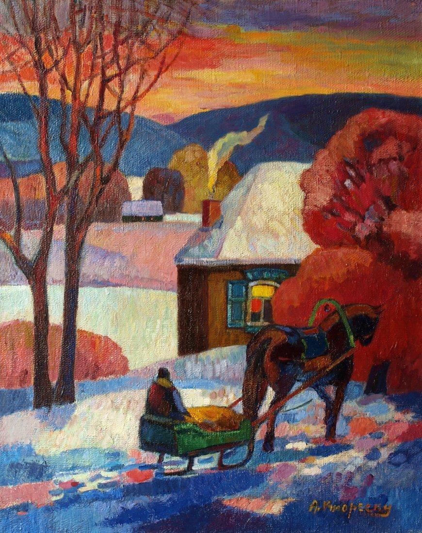 Andrei Kioresku, Red Winter