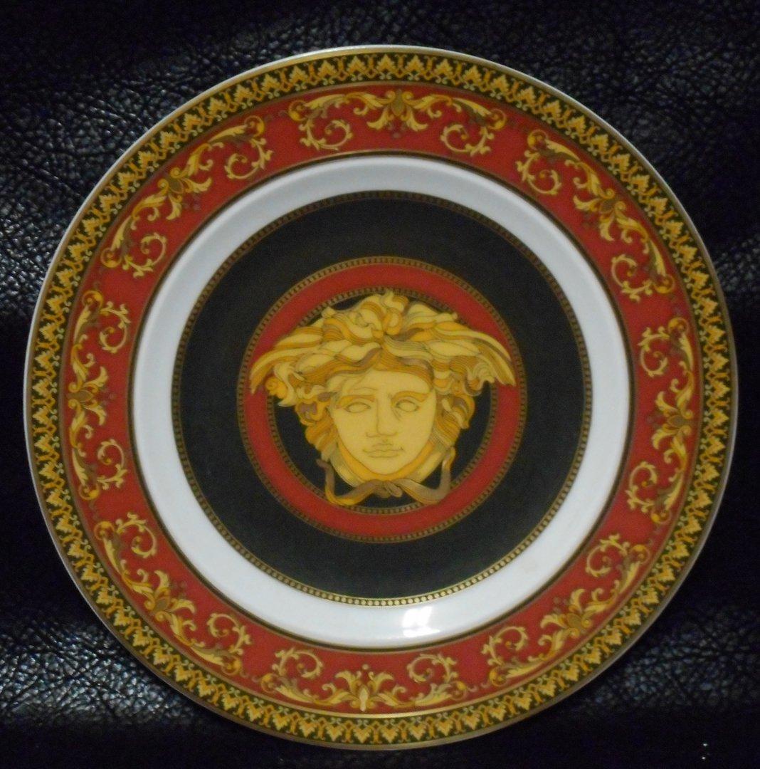 Versace Dessert Plate Medusa 1