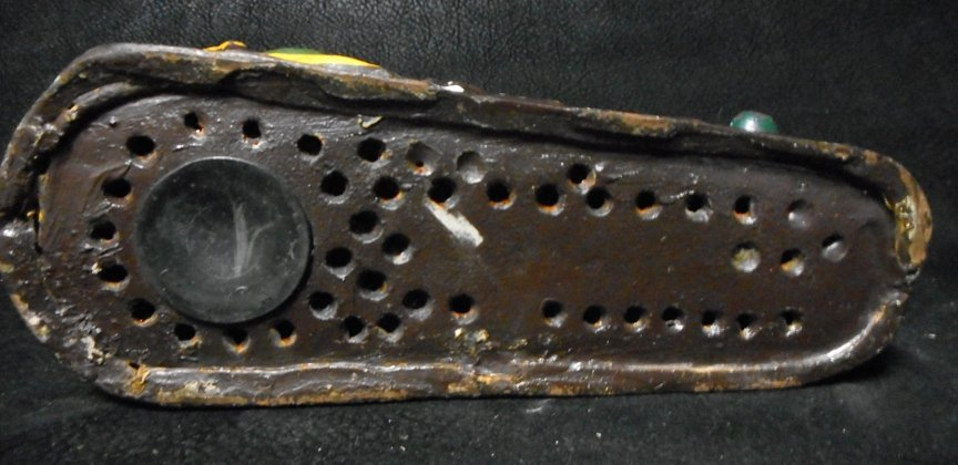 Old Cast Iron Frog Bank - 3
