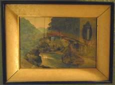 Old Japanese Woodblock Print