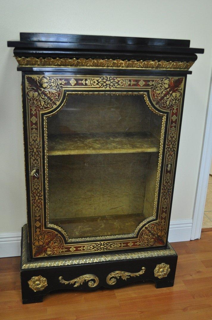 French Boulle Cabinet Napoleon III