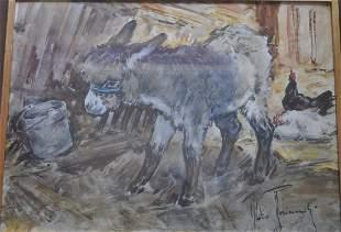 Aldo Raimondi (1902-1997) Watercolor