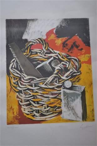 Renato Guttuso (1912-1987) Lithograph