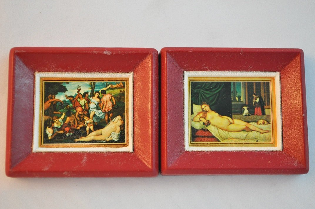 Limited Edition-Tiziano's Artwork imprinted on fine gol - 2