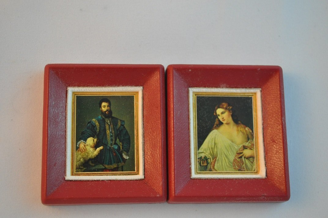 Limited Edition-Tiziano's Artwork imprinted on fine gol - 3