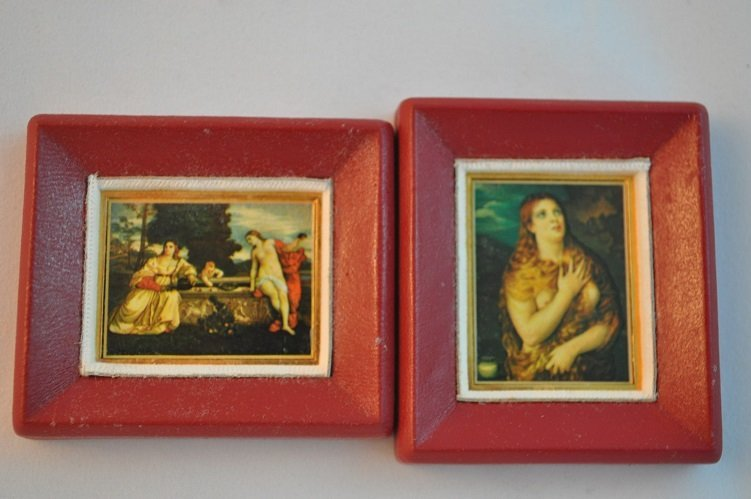 Limited Edition-Tiziano's Artwork imprinted on fine gol - 5