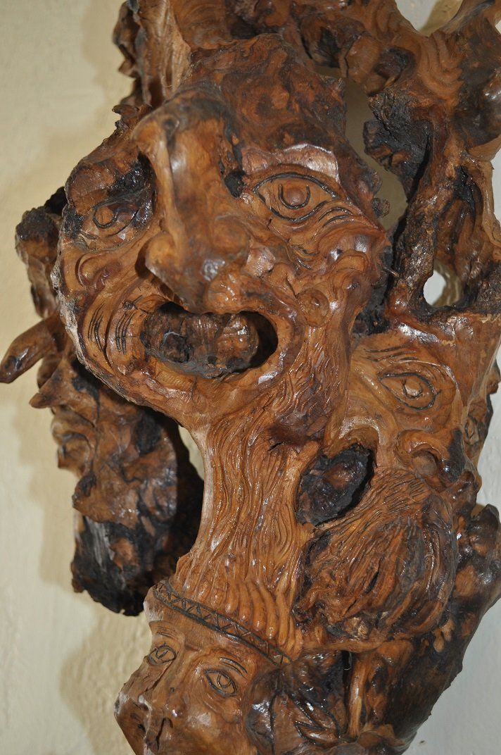 Ancient Olive Tree-Carved - 3