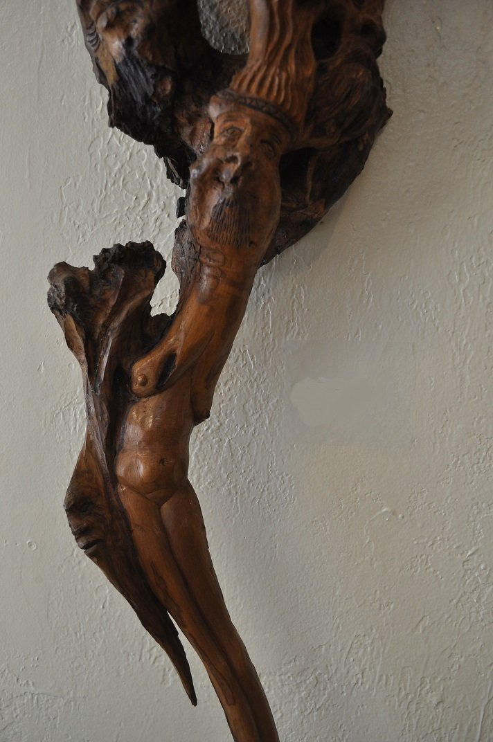 Ancient Olive Tree-Carved - 6