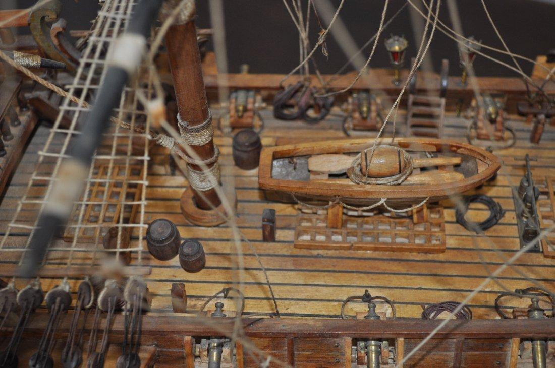 Spanish Galleon Wooden Model- Ship - 6