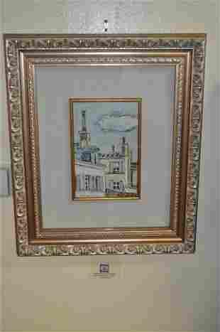 O.Tamburi (1910-1994) Oil Painting