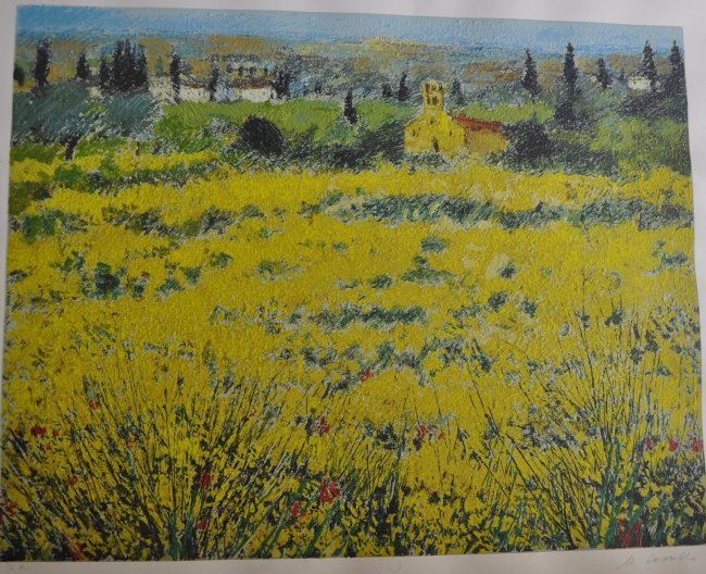 Cascella Michele (1892-1989) Artist's Proof Lithography