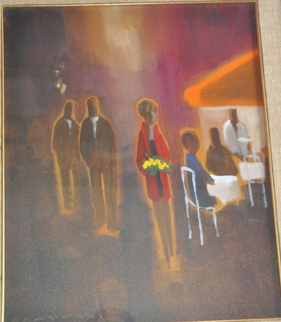 Fantuzzi E. Oil on canvas