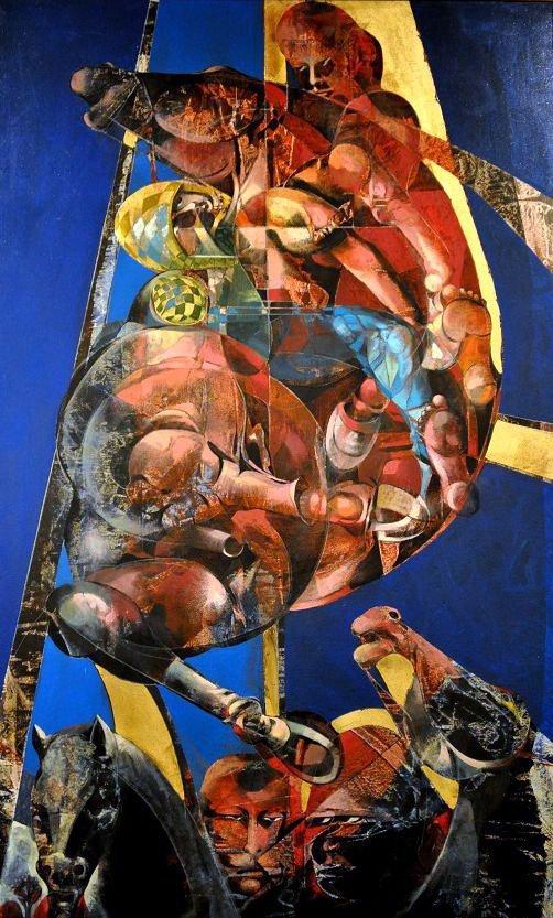 "Rapisardi Alfio "" The Knight of the New Renaissance"""