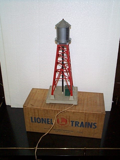 7: Lionel Trains water tower with blinker light No. 193