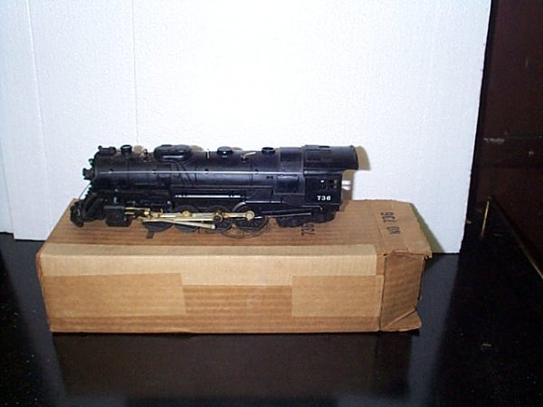 9: Lionel Trains engine No. 736 with original box.  Buy