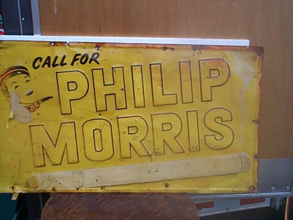 511: Antique Call for Phillip Morris Cigarette advertis