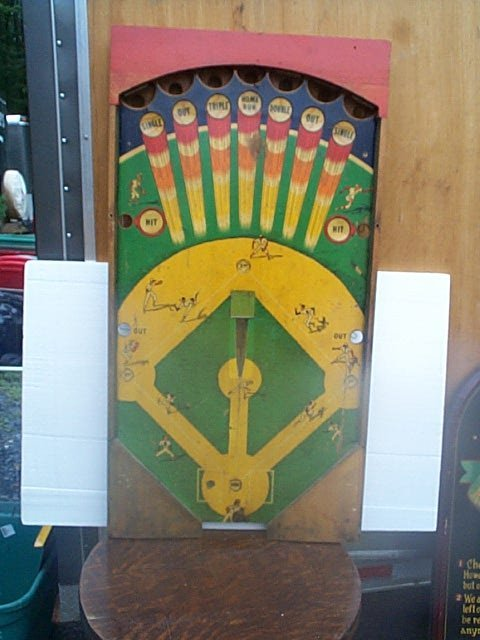 517: Vintage baseball game.  Appears to be the playing