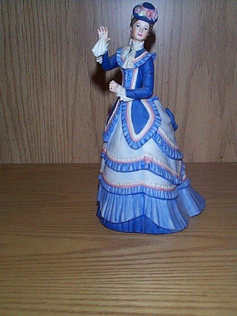 "14: Lenox figurine, ""Grand Tour.""  Measures 8.25"" tall."
