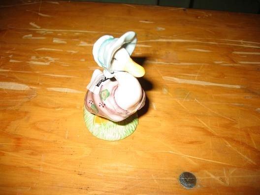 14D: Royal Doulton Bunnykins Jemima puddleduck  figurin