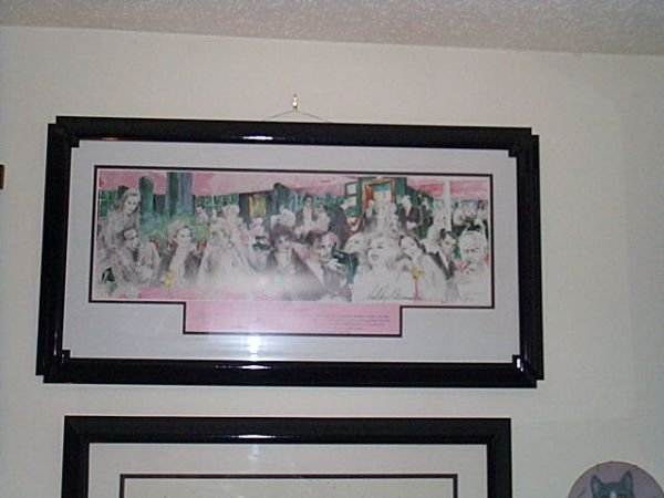 201: LeRoy Neiman, pencil signed lithograph, entitled,