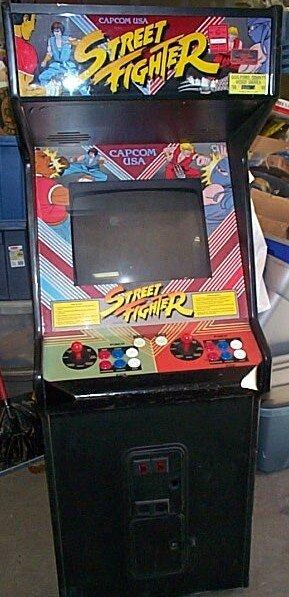 1133: Capcom USA Street Fighter Arcade coin operated ga