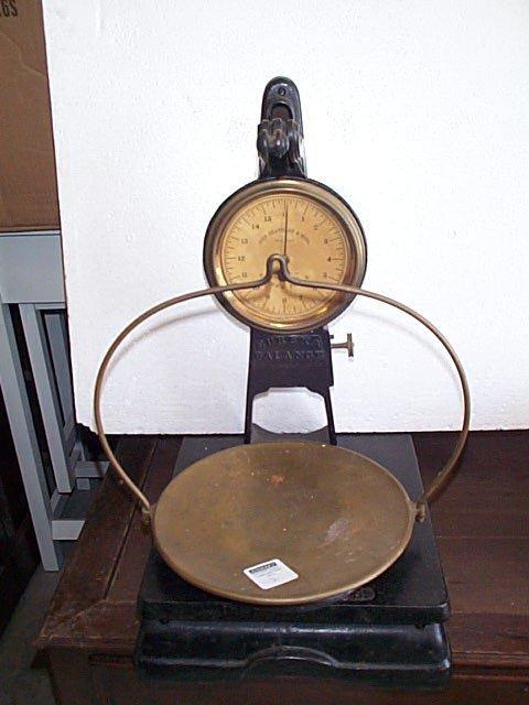7: John Chatillon & Sons New York Eureka balance scale,
