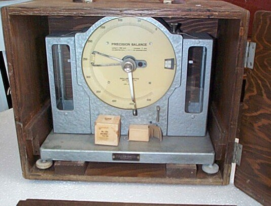 16:  Roller-Smith Precision Balance scale with box, mea