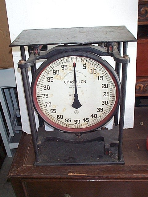 18: Chatillon New York, Thermoseal Spring Scale capacit
