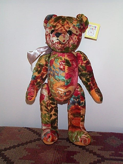 "1000: 18.5"" Winey Teddy Bear ""Taddy"" artist signed Sall"