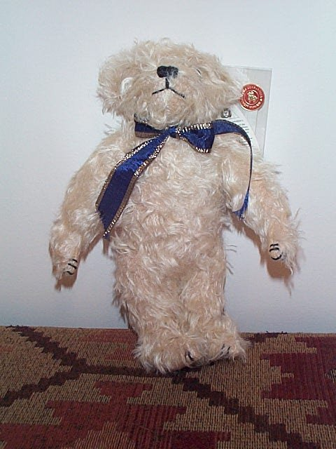 """1001: 12"""" Merry Thought Made in England Teddy Bear.  No"""
