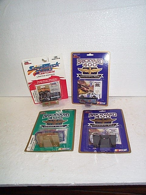 1012: Lot of 4 Nascar collectibles including Racing Cha