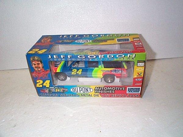 1020: Nascar Die Cast Collectible Jeff Gordon 1993 Rook