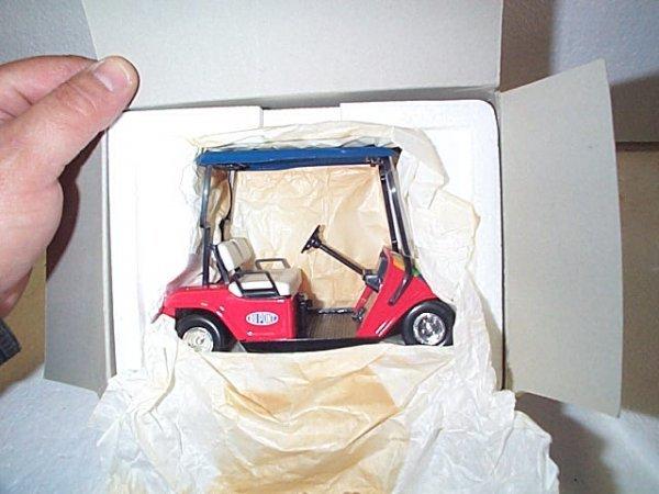 1021: Dupont Jeff Gordon 1:16 scale cart bank.  Diecast