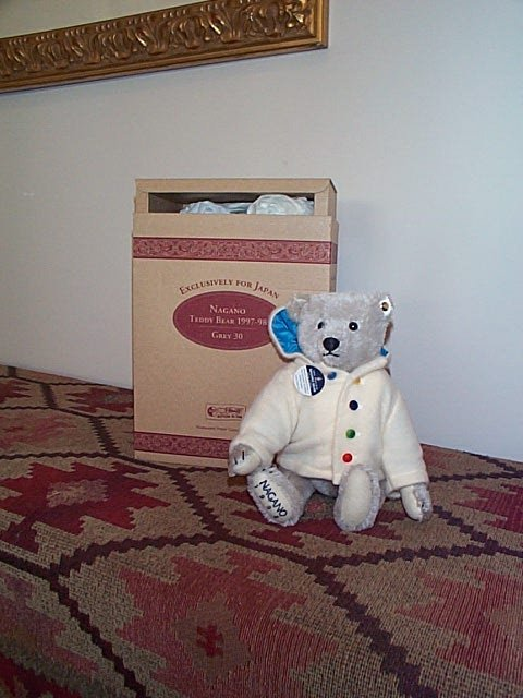 1162: Steiff jointed mohair teddy bear, exclusively for