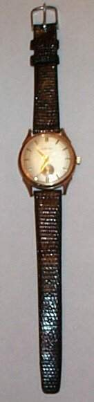 14K yellow gold Mathey Tissot men's wrist watch