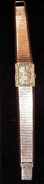 18K white gold Baum Mecier men's wrist watch with at