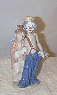 """508: Lladro number 7686 """"Pals Forever""""2000 Collectors S"""