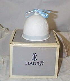 """513: Lladro number 7616 """"Winter Bell"""", retired w/box"""