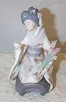 "Lladro number 1450 ""Kiyoko"", retired"