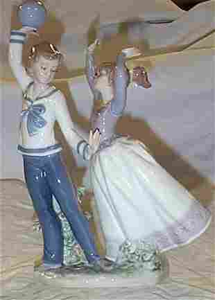 """Lladro number 5304 """"Children at Play"""", retired"""