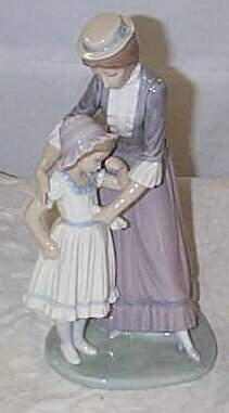 """Lladro number 5142 """"Solace"""", retired"""