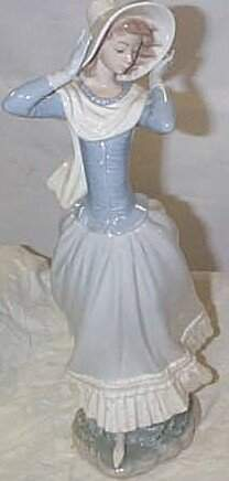 """Lladro number 4936 """"Spring Breeze"""", retired"""