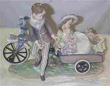 """543: Lladro number 5958 """"Country Ride"""", w/ box, as foun"""