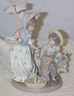 """Lladro number 5453 """"For You"""", retired"""