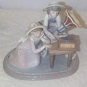 """Lladro number 5430 """"Music Time"""", retired w/box"""