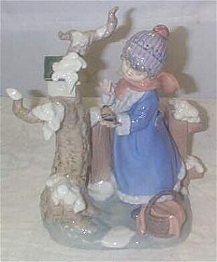 """Lladro number 5287 """"Winter Frost"""", retired"""