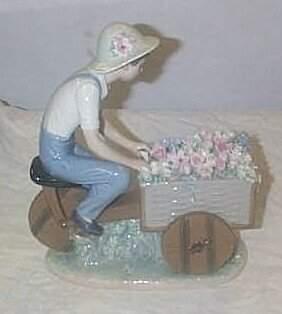 """Lladro number 5029 """"Flower Peddler"""", retired"""