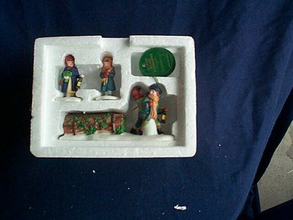 """Department 56 Heritage Village Collection, """"Bring"""