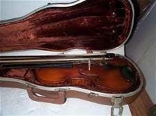 625: Antique Violin, paper label signed Antonius Stradu