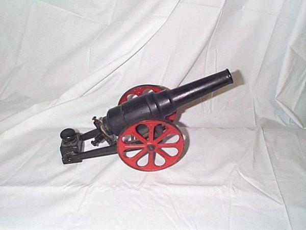 506: Cast Iron Big Bang Cannon, missing 1 back clip, me